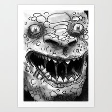 Rogues Gallery - Killer Croc Art Print