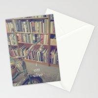 I Am Alive Stationery Cards