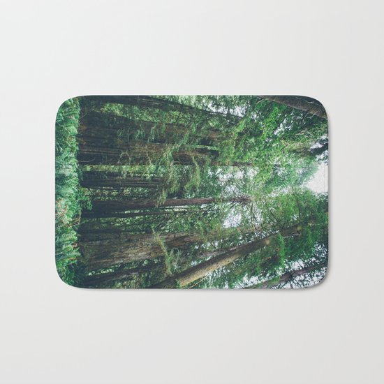 Redwood Forest  Bath Mat