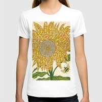 georgia T-shirts featuring Georgia Sunflower by valerie lorimer