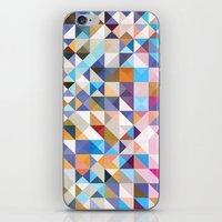 confetti iPhone & iPod Skins featuring Confetti by FRAXTURED