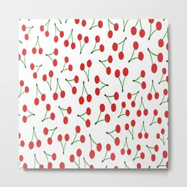 Cherry vs. Cereza Metal Print