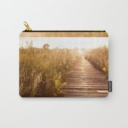boardwalk and morass grass Carry-All Pouch