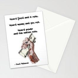 Hoard Money... Stationery Cards