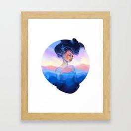 Emblem (Blue Ridge) Framed Art Print