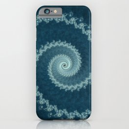 Pacific Vortex - Fractal Art  iPhone Case