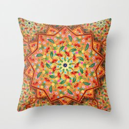 Creation and Expression Throw Pillow