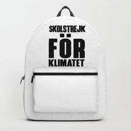 SKOLSTREJK FOR KLIMATET Backpack