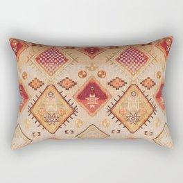 Traditional Oriental Desert Bohemian Moroccan Style  Rectangular Pillow