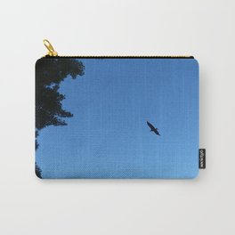 Eagle Silhouette // Nature Photography Carry-All Pouch