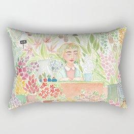 The Florist Rectangular Pillow
