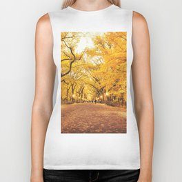 New York City Autumn Biker Tank