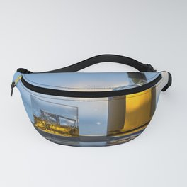 Evening Cocktail on Ice Fanny Pack