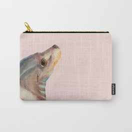 Lazy Glance - Sea Lion Watercolor Painting Carry-All Pouch