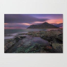 Flakstad Beach Canvas Print