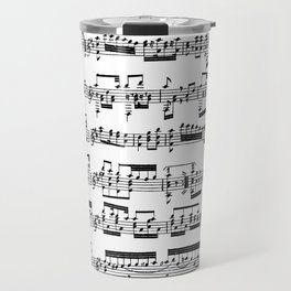 Sheet Music Travel Mug