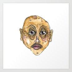 old man 1 Art Print