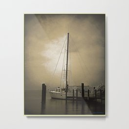 Bail Sail Sunset  Metal Print