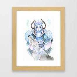 The Last of Winter Framed Art Print