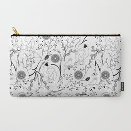 Fox and Bird Carry-All Pouch