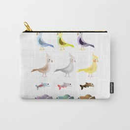 Animals 9 Carry-All Pouch