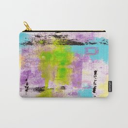 Abstract Life Carry-All Pouch