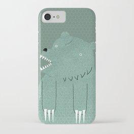 Friendly Bear iPhone Case