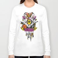 tatoo Long Sleeve T-shirts featuring Forever. Tatoo by mayina