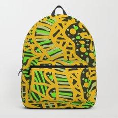 Doodle 16 Yellow Backpack