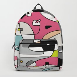 Le Picnic - Abstract Modern Artwork (2020) Backpack