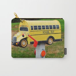 School Bus Mailbox Carry-All Pouch