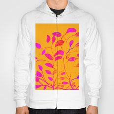 Peaches and Cream Red Leaves Hoody