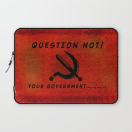 QUESTION NOT! - 013 Laptop Sleeve