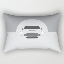 Minimal Aston Martin DB5 Rectangular Pillow