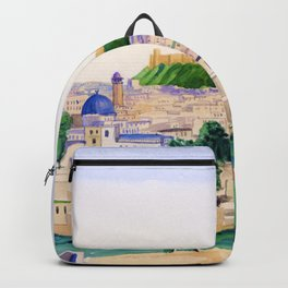 Aleppo, Syria - Sydney William Carline Backpack