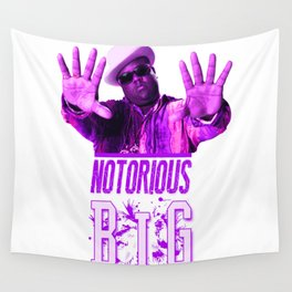 Notorious Big Wall Tapestry