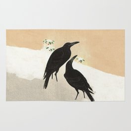 Crows from Koson Rug