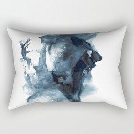 Indigo Depths No. 4 Rectangular Pillow