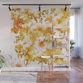 Romantic Floral Wall Mural