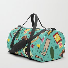 Living Retro Duffle Bag