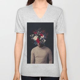 In the Small Hours of the Morning Unisex V-Neck