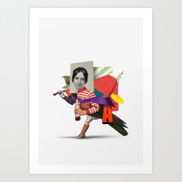 Untitled A Art Print