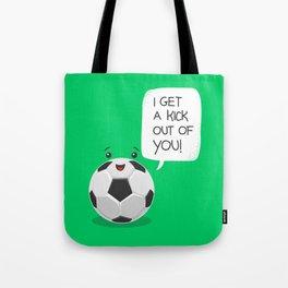 Tough Love! Tote Bag