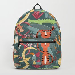 Rain forest animals 003 Backpack