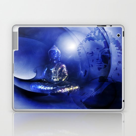 Blue Buddha Laptop & iPad Skin