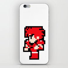 Young Fighter - Final Fantasy iPhone & iPod Skin