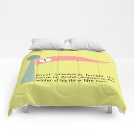 The Tenenbaums flag pennant Comforters