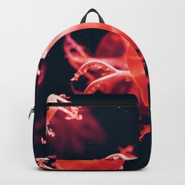 Deep Red and Purple Jellyfish Backpack