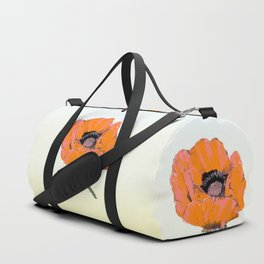And they call it  Poppy  Love Duffle Bag