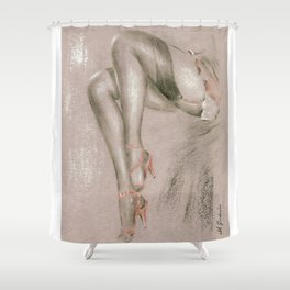Sexy in High Heels Shower Curtain